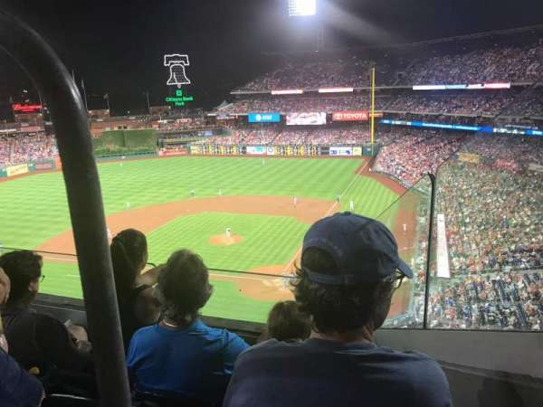 Citizens Bank Park, section: 322, row: 1, seat: 18