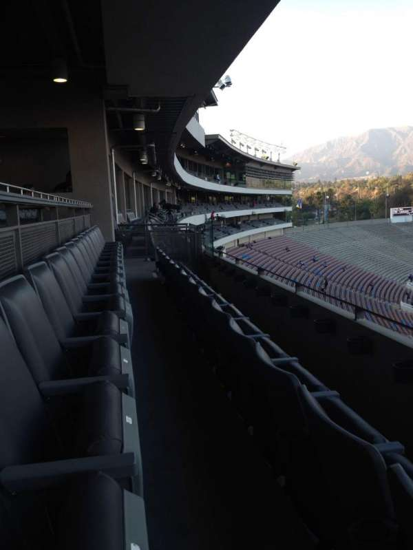 Rose Bowl, section: Club E207, row: B, seat: 1 and 2