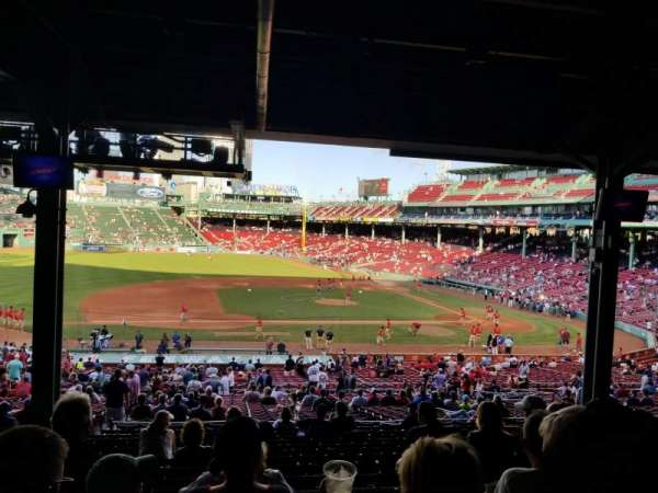 Fenway Park, section: Grandstand 26, row: 15, seat: 19
