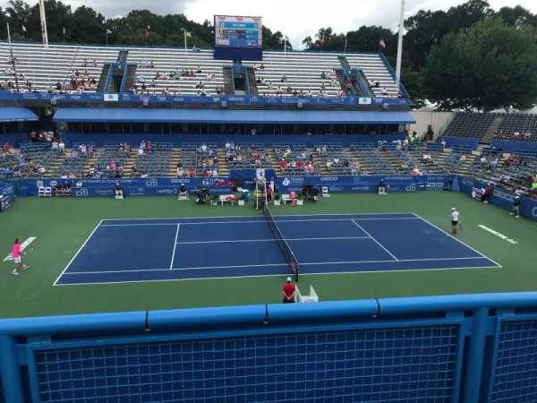 William H.G. Fitzgerald Tennis Stadium, section: 3, row: B, seat: 7