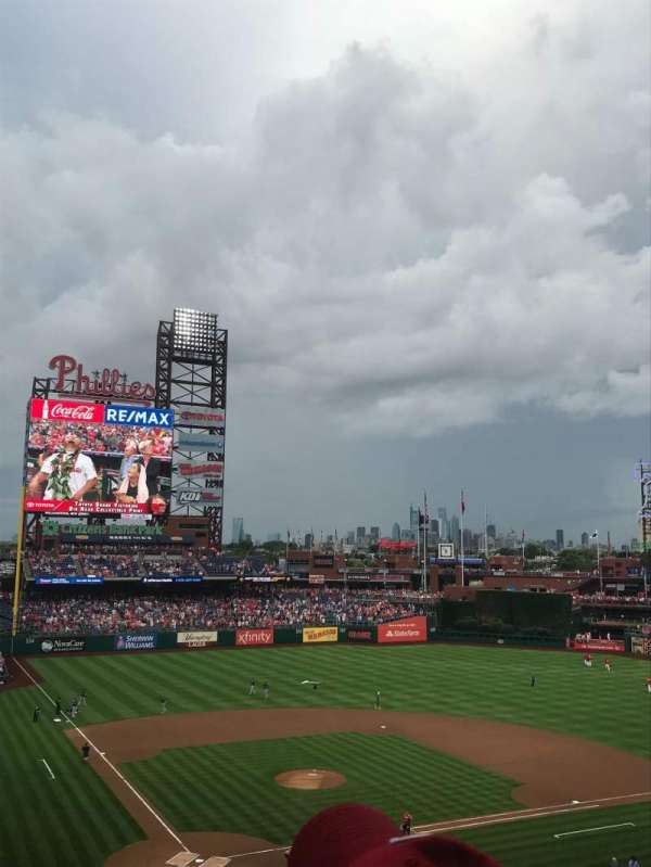 Citizens Bank Park, section: 219, row: 6, seat: 15