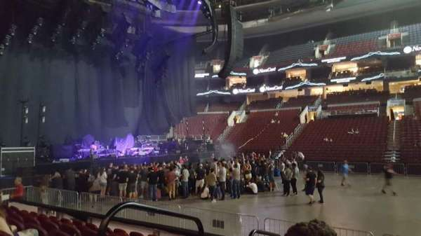 Wells Fargo Center, section: 101, row: 7, seat: 2