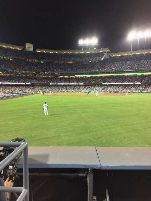 Dodger Stadium, section: 304PL, row: A, seat: 1-5