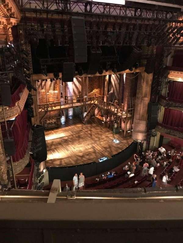 CIBC Theatre, section: Balcony L, row: B, seat: 11