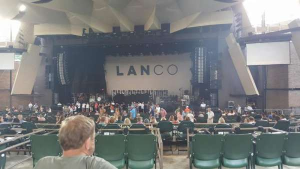 Saratoga Performing Arts Center, section: 10, row: CC, seat: 4