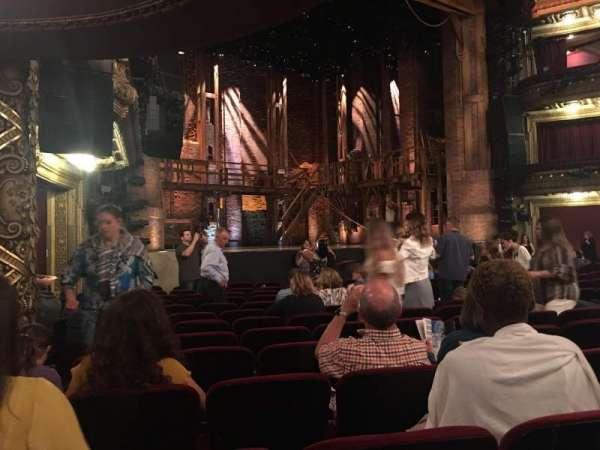 CIBC Theatre, section: Orchestra L, row: P, seat: 21, 23