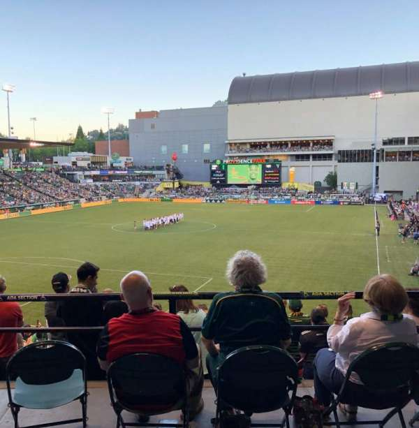 Providence Park, section: 210, row: A, seat: 11