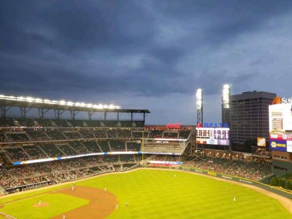 SunTrust Park, section: 413, row: 1, seat: 1
