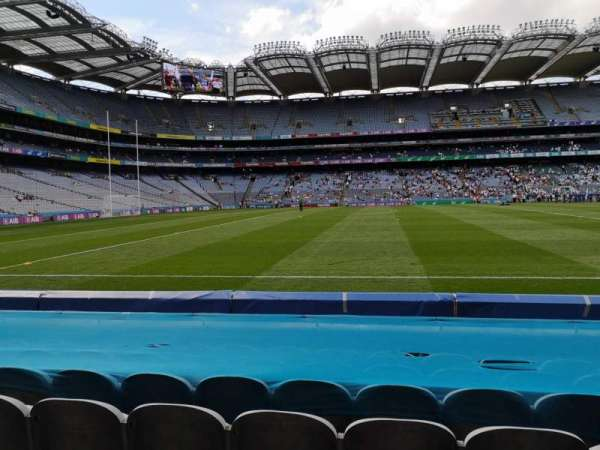 Croke Park, section: 308, row: G, seat: 23