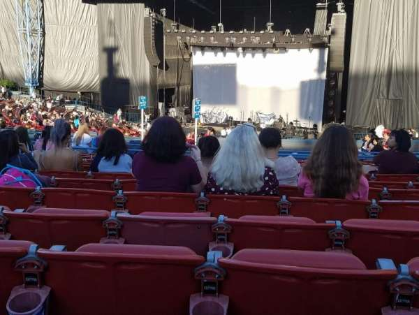 Shoreline Amphitheatre, section: 201, row: O, seat: 15