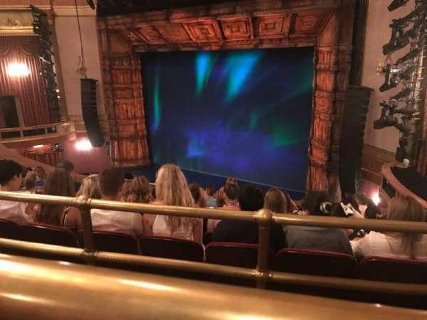 St. James Theatre, section: Mezzanine R, row: J, seat: 20