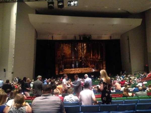 Des Moines Civic Center, section: 6W, row: CC, seat: 26
