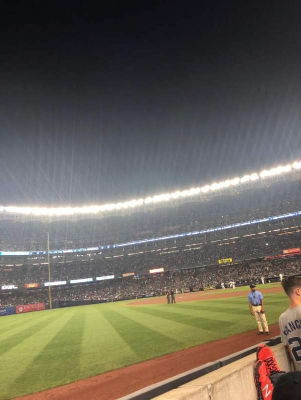 Yankee Stadium, section: 130, row: 2, seat: 5