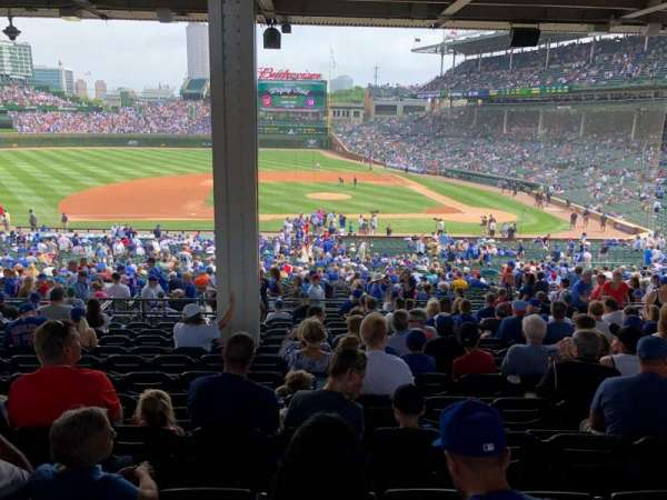 Wrigley Field, section: 212, row: 15, seat: 16