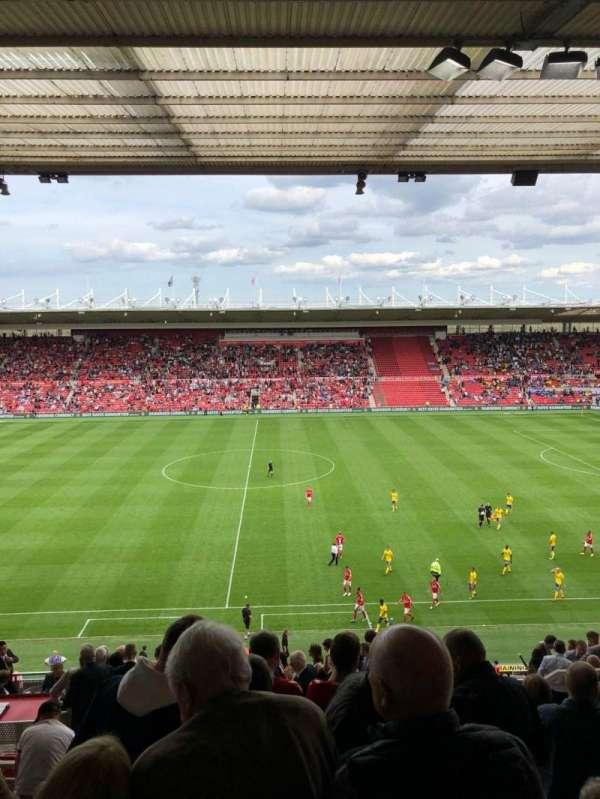 Riverside Stadium, section: 76, row: 35, seat: 112