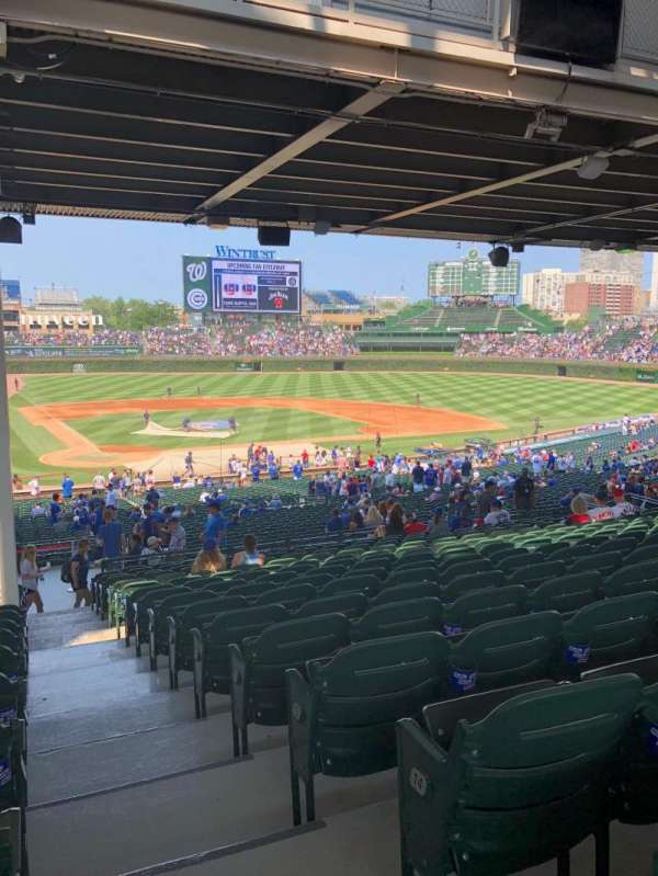 Wrigley Field, section: 220, row: 16, seat: 27