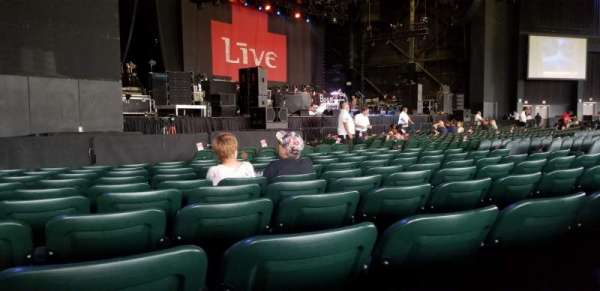 BB&T Pavilion, section: 104, row: K, seat: 13 and 14