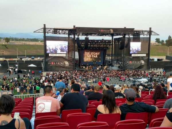 FivePoint Amphitheater, section: Terrace 304, row: 36, seat: 76