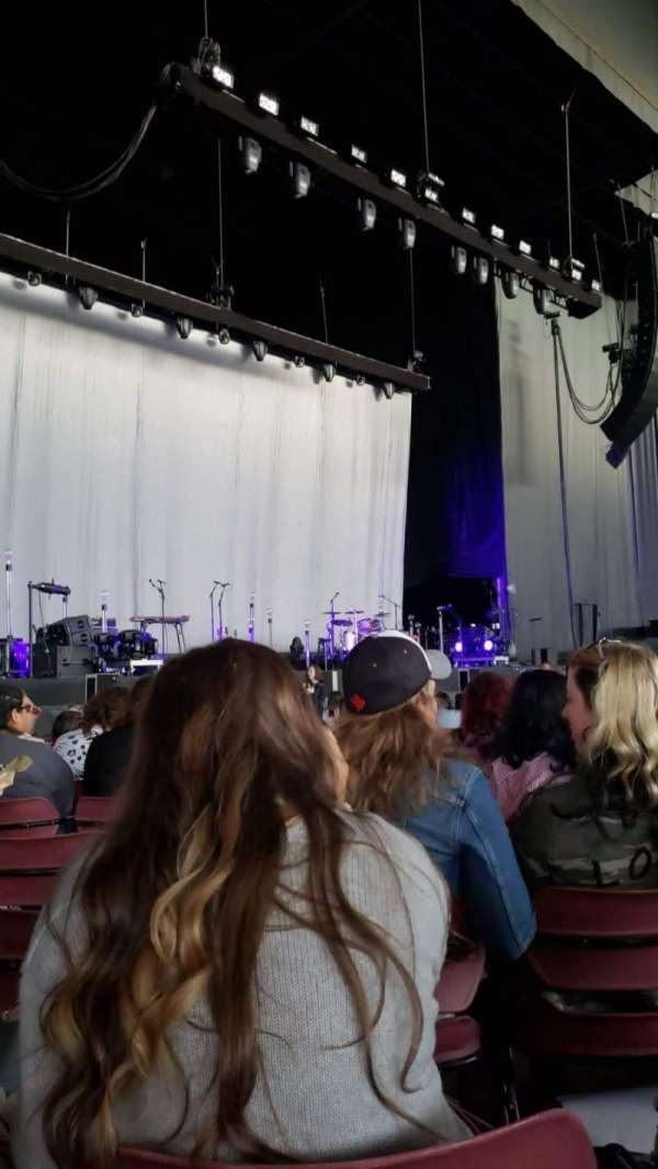 White River Amphitheatre, section: 5, row: 15, seat: 14