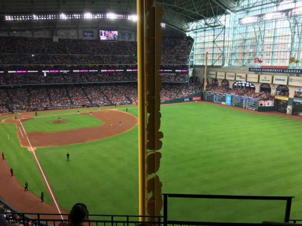 Minute Maid Park, section: 436, row: 4, seat: 15
