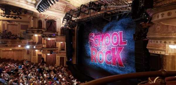 Winter Garden Theatre, section: Right Mezzanine, row: A, seat: 30