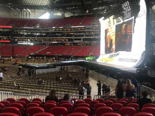 Mercedes-Benz Stadium, section: 107, row: 8, seat: 5