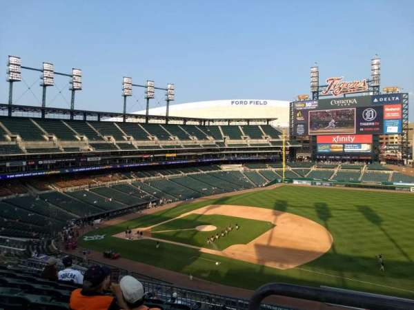 Comerica Park, section: 218, row: 7, seat: 7