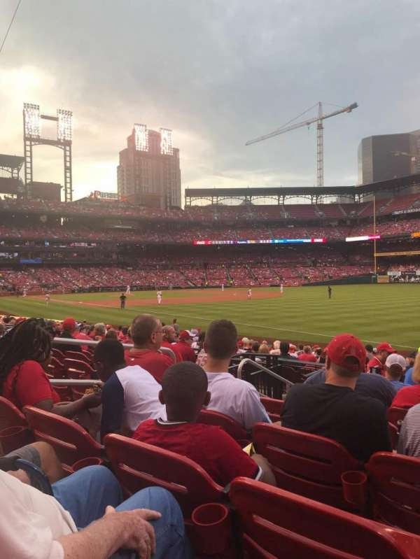 Busch Stadium, section: 134, row: 8, seat: 5