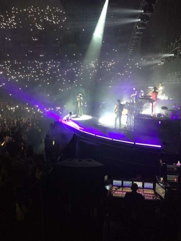 The O2 Arena, section: 113, row: J, seat: 419