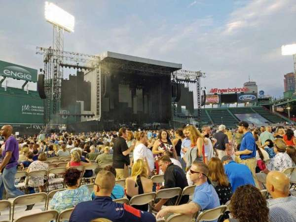 Fenway Park, section: C7, row: 6, seat: 8