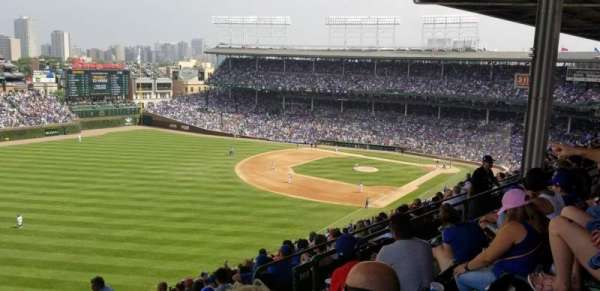 Wrigley Field, section: 503, row: 4, seat: 5
