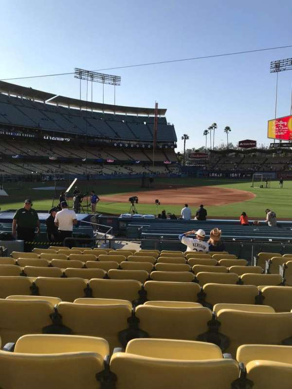 Dodger Stadium, section: 26FD, row: K, seat: 8