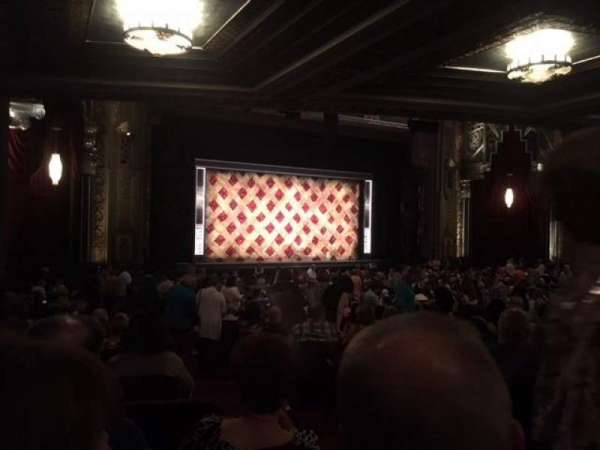 Hollywood Pantages Theatre, section: Orchestra L, row: TT, seat: 3
