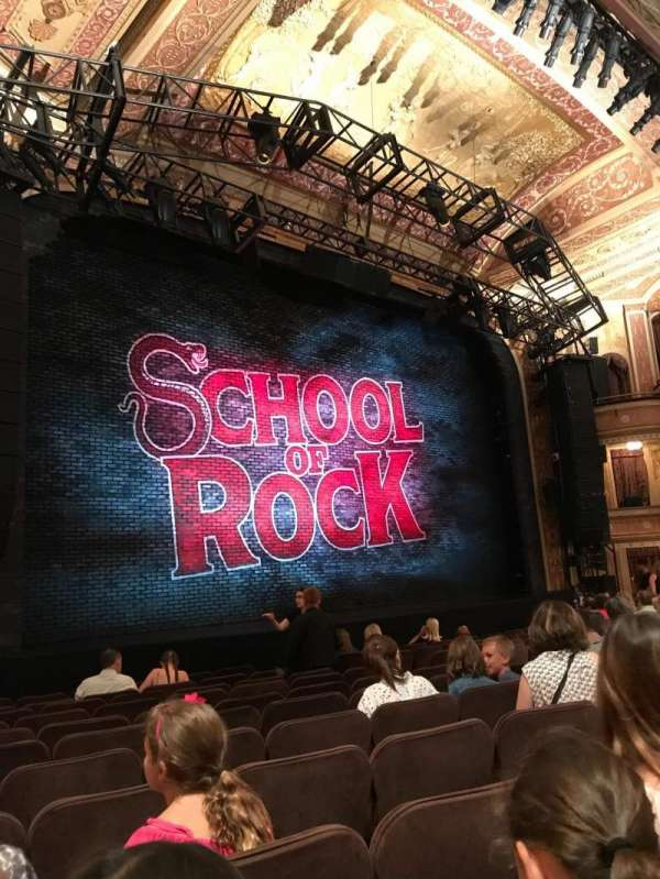 Winter Garden Theatre, section: Orchestra, row: L, seat: 17