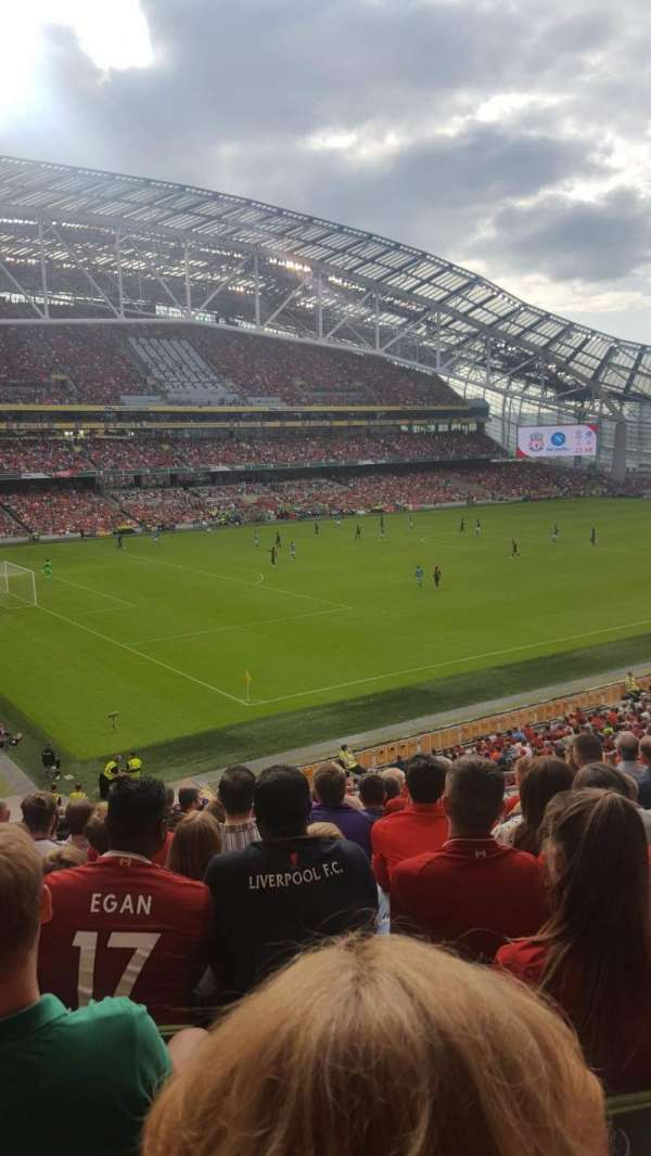Aviva Stadium, section: 311, row: J, seat: 6