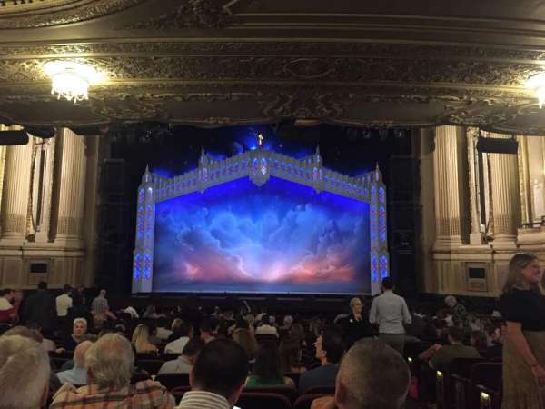 Citizens Bank Opera House, section: Orchestra, row: S, seat: 101