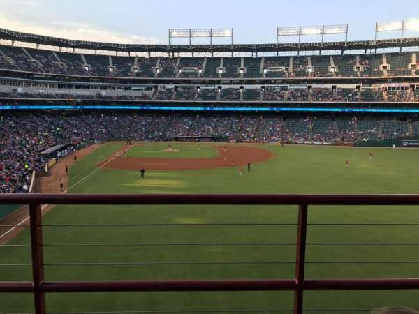 Globe Life Park in Arlington, section: 247, row: 3, seat: 16