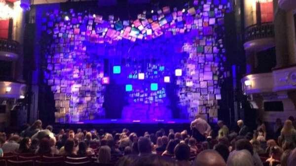 Birmingham Hippodrome, section: Stalls, row: P, seat: 18