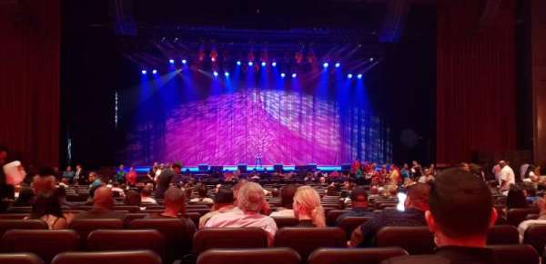 Microsoft Theater, section: Orchestra center, row: W, seat: 113