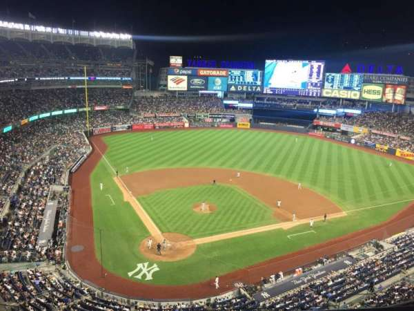 Yankee Stadium, section: 419, row: 1, seat: 16