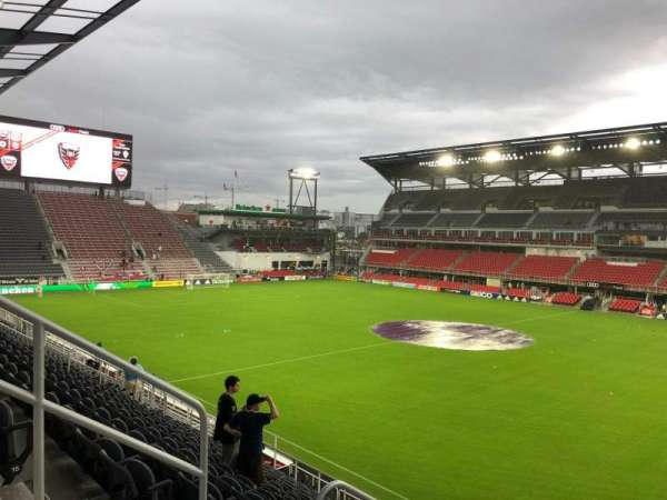 Audi Field, section: 124, row: 16, seat: 20