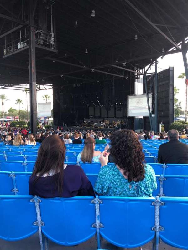 iThink Financial Amphitheatre, section: 4, row: EE, seat: 12
