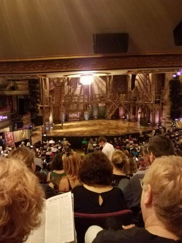 Richard Rodgers Theatre, section: Orchestra L, row: T, seat: 9