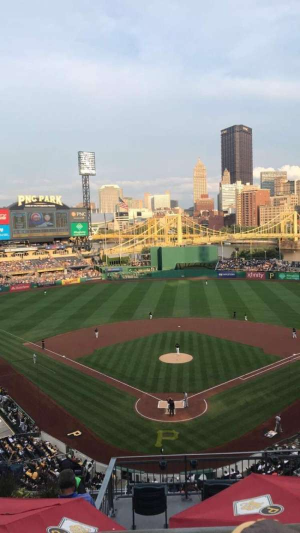 PNC Park, section: 316, row: B, seat: 9