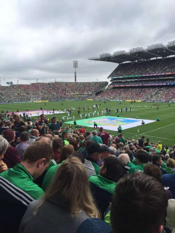 Croke Park, section: 329, row: Cc, seat: 1