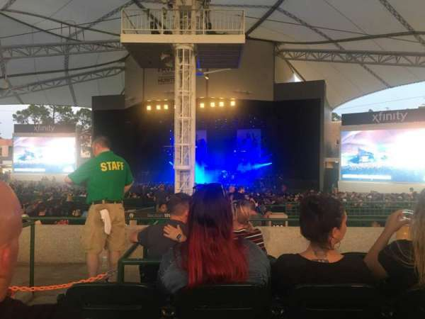Cynthia Woods Mitchell Pavilion, section: 109, row: D, seat: 2