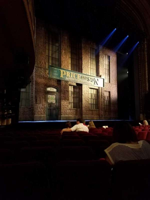 Al Hirschfeld Theatre, section: ORCH-L, row: K, seat: 17