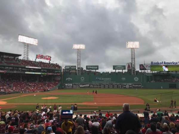 Fenway Park, section: Loge Box 113, row: LL, seat: 6