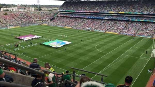 Croke Park, section: 726, row: M, seat: 12