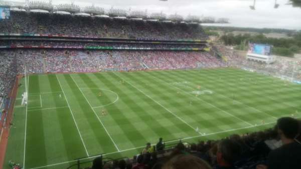 Croke Park, section: 710, row: T, seat: 28
